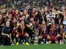 Beim FC Barcelona gibt es immer etwas zu feiern.