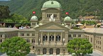 Das Bundeshaus im Swiss Miniatur