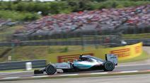 Nico Rosberg hat die Nase vorne. (Archivbild)