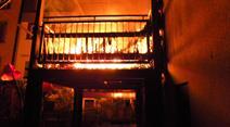 Die Feuerwehr brachte den Brand rasch unter Kontrolle.