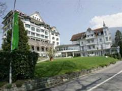 Im Park-Hotel werden die Brasilianer wohnen.