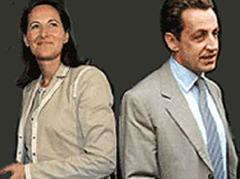 Ségolène Royal im Duell mit Nicolas Sarkozy.