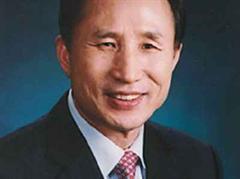 Der südkoreanische Staatschef Lee Myung Bak.