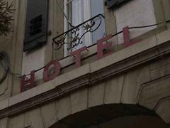 Ein Hotel in der Berner Altstadt.