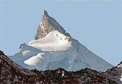 Das Zinalrothorn bei Zermatt VS.
