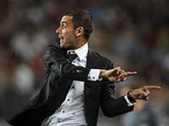 Barcelonas neuer Trainer Josep Guardiola.