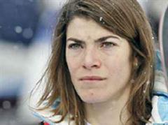Snowboarderin Mellie Francon.