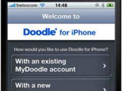 Doodle als iPhone-App.
