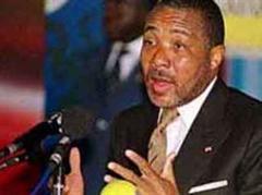 Liberias Präsident Charles Taylor.