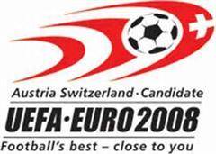 Das Logo der Fussball-EM 2008