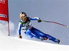 Didier Cuche an der SkiWM 2003 in St.Moritz.