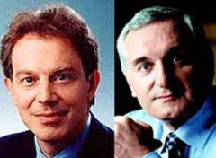 Tony Blair und Bertie Ahern.