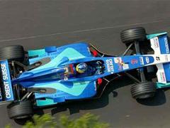 Nick Heidfeld im Sauber Petronas.