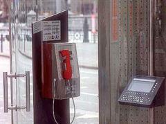 Zurück zu den herkömmlichen Telefonzelle der Swisscom.