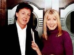 Heather Mills und Paul McCartney.