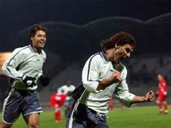 Didier Tholot traf für Sion zum 1:0. (Bild: Archiv)