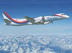 Die Flugzeuge der Darwin Airline sind im Durchschnitt zu 45 Prozent ausgelastet.