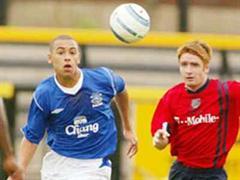 James Vaughan (links) ist neu der jüngste Torschütze der Premier League. (Bild: Archiv)