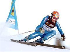 Sylviane Berthod wurde heute nur von der Österreicherin Elisabeth Görgl überholt.