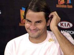 Roger Federer spielt heute gegen den erstarkten Deutschen Tommy Haas.