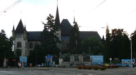 Das historische Museum Bern.