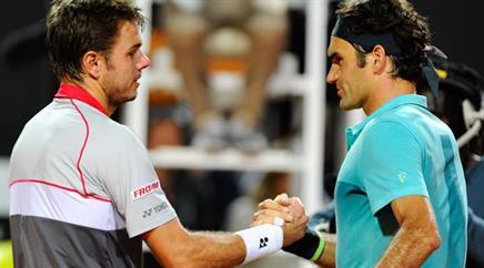 Stan Wawrinka und Roger Federer.