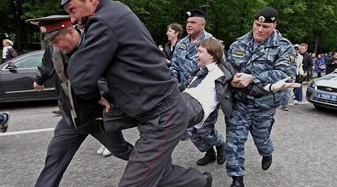 Festnahmen in Russland. (Archivbild)