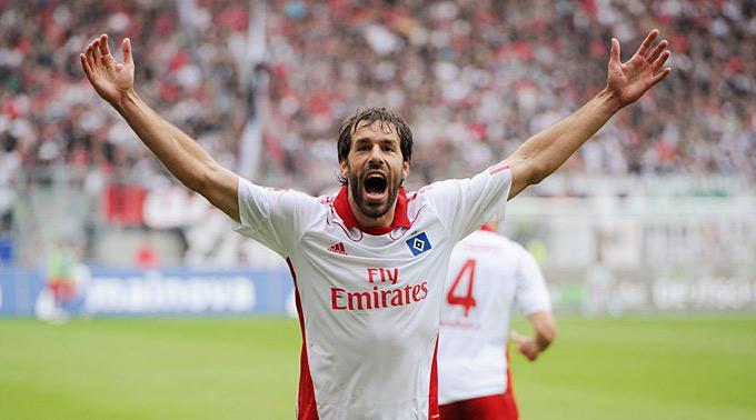 Der dreifache Champions-League-Toptorschütze Ruud van Nistelrooy.