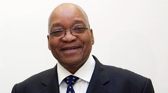 Jacob Zuma, Präsident Südafrika