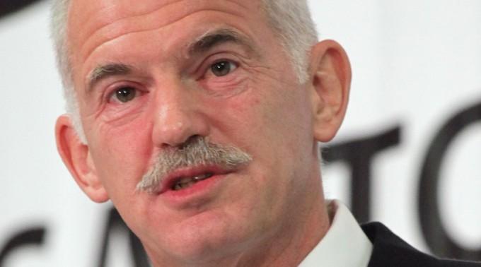 Giorgos Papandreou will helfen.
