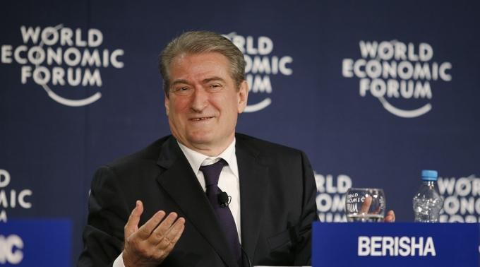 Der klare Verlierer: Der 68-jährige Sali Berisha.