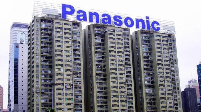 Panasonic-Gebäude in Hongkong.