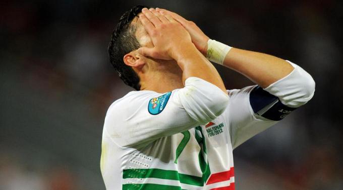 Cristiano Ronaldo muss seine Titelträume begraben.