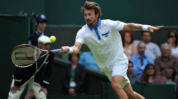 Juan Carlos Ferrero in Wimbledon.