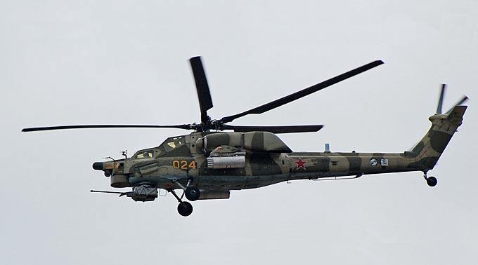 Russland liefert 30 Kampfhelikopter vom Typ Mi-28.
