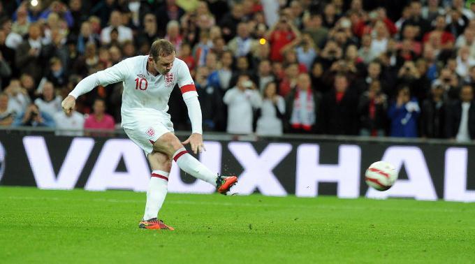 Gewohnt sicher: Wayne Rooney trifft vom Punkt.