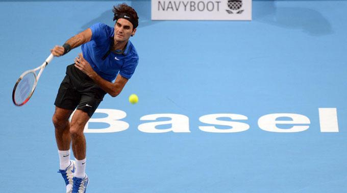 Musste hart kämpfen: Roger Federer.