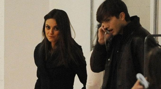Mila Kunis und Ashton Kutcher.