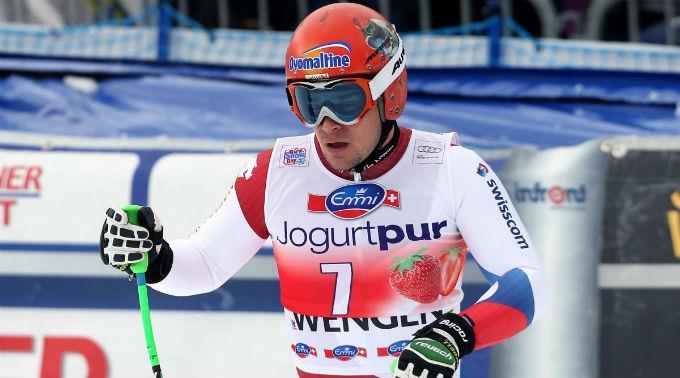 Patrick Küng feiert seinen ersten Weltcup-Abfahrtssieg.(Archivbild)