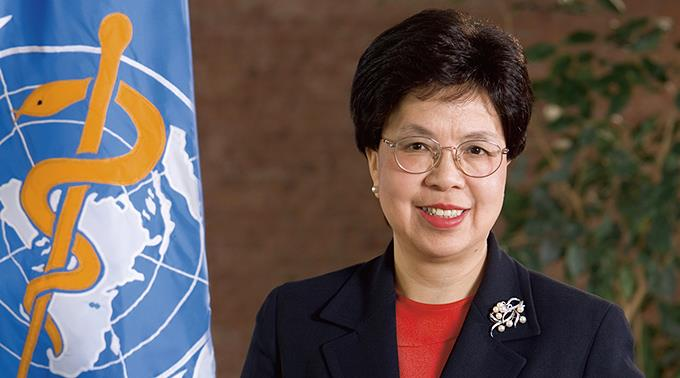 WHO-Generaldirektorin Margaret Chan.