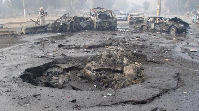In Bagdad werden immer wieder schwere Anschläge verübt. (Archivbild)