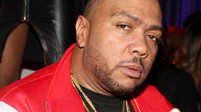 R'n'B und HipHop-Produzent Timbaland.