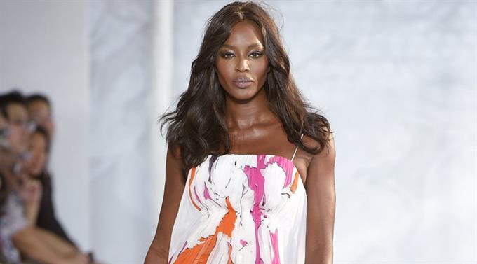Naomi Campbell an der New York Fashion Week.