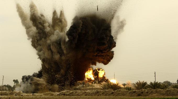 Luftangriffe. (Archivbild)