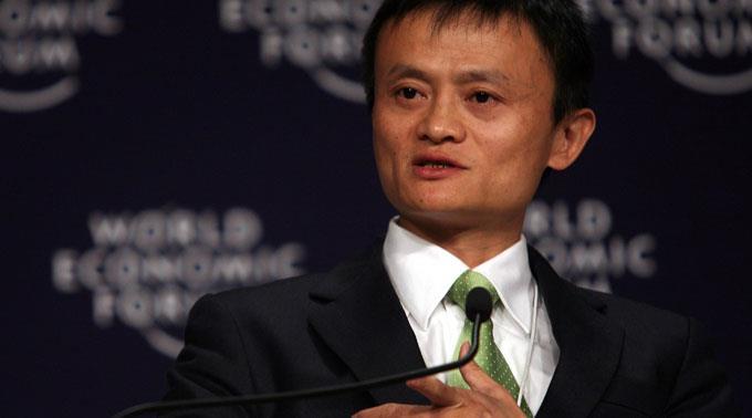 Nach dem Handels- nun das Medien-Imperium: SCMP-Käufer Jack Ma.