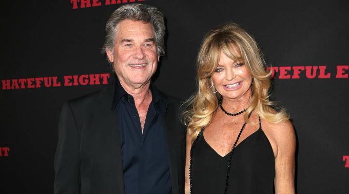 Kurt Russell verlachte die Berichte, er hätte Goldie Hawn zum Altar geführt.