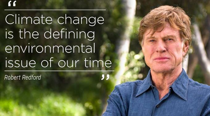 Engagierter Klimakämpfer: Robert Redford.