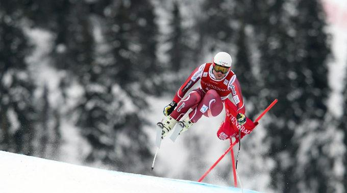 Der Norweger Kjetil Jansrud sicherte sich den 14. Weltcupsieg.