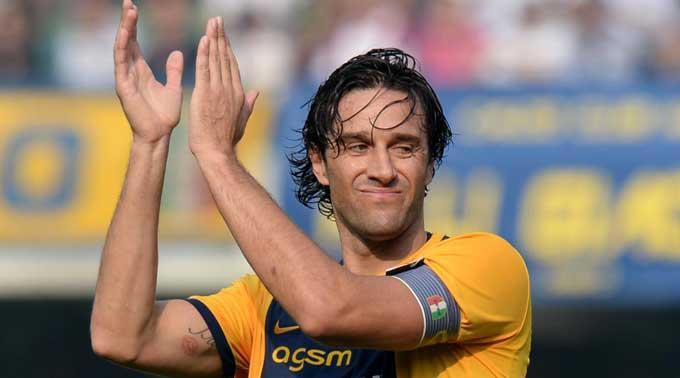 Luca Toni bei Hellas Verona (Archivbild).